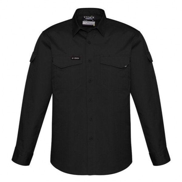 Custom Syzmik Men's Rugged Cooling L/S Shirt