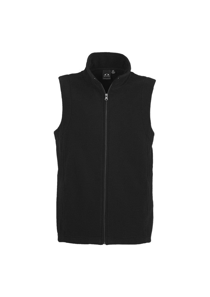 Men's Plain Micro Fleece Vest