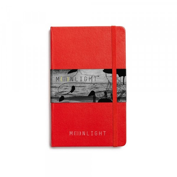Custom Moleskine® Large Classic Hard Cover Notebook - Ruled