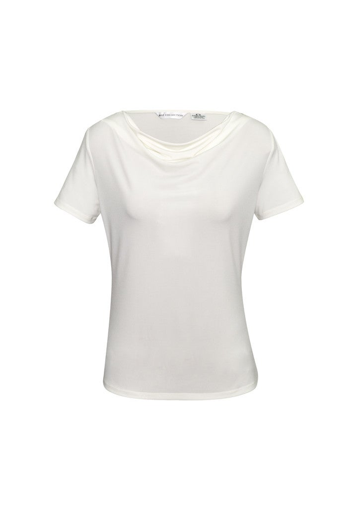 Ladies Ava Drape Knit Top