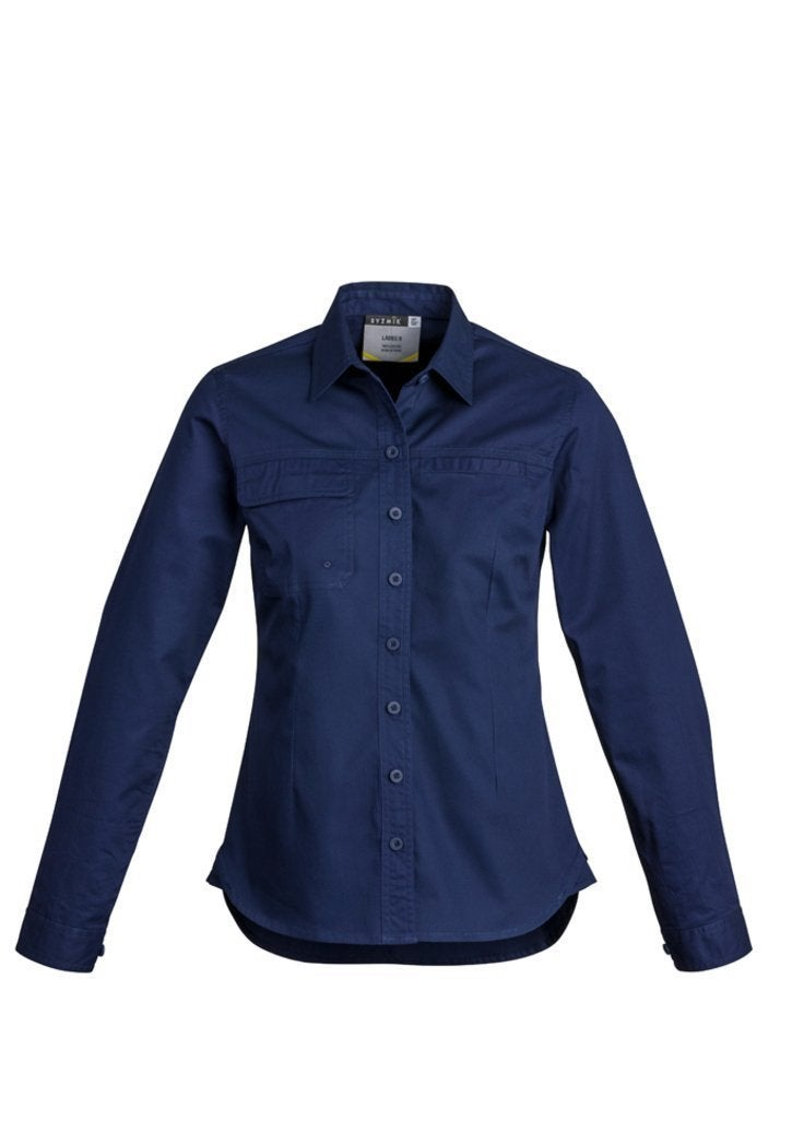 Womens Lightweight Tradie Shirt L/S