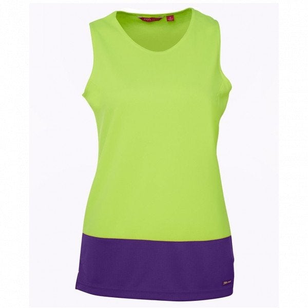 Custom JB's Hi Vis Ladies Traditional Singlet