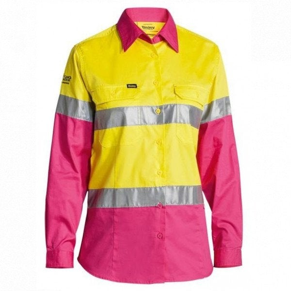 Custom Womens Hi Vis Cool Lightweight Shirt