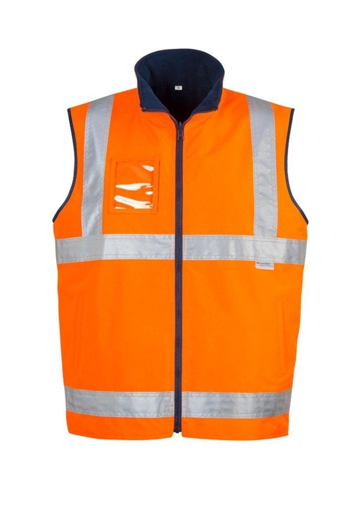 Hi Vis Lightweight Fleece Lined Vest