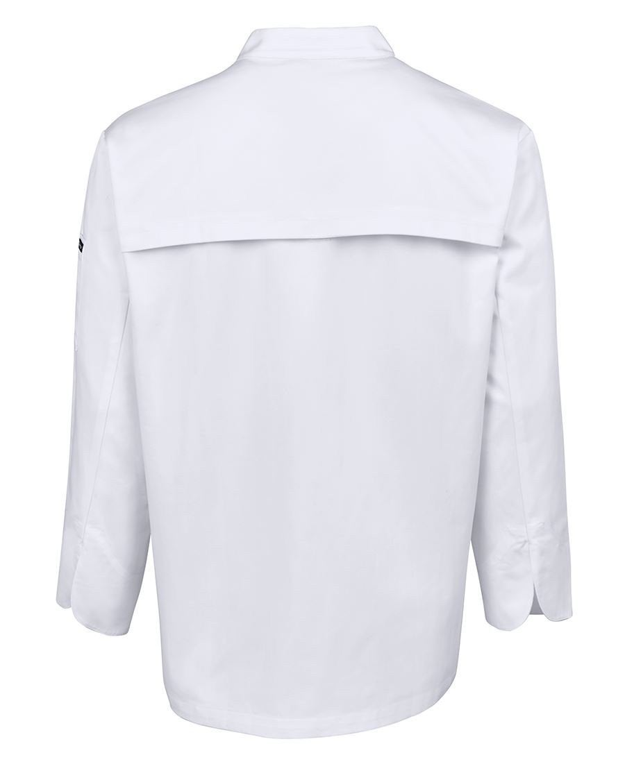 JB's Mens L/S Vented Chef's Jacket