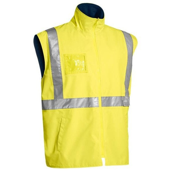 Custom TAPED HI VIS WET WEATHER VEST