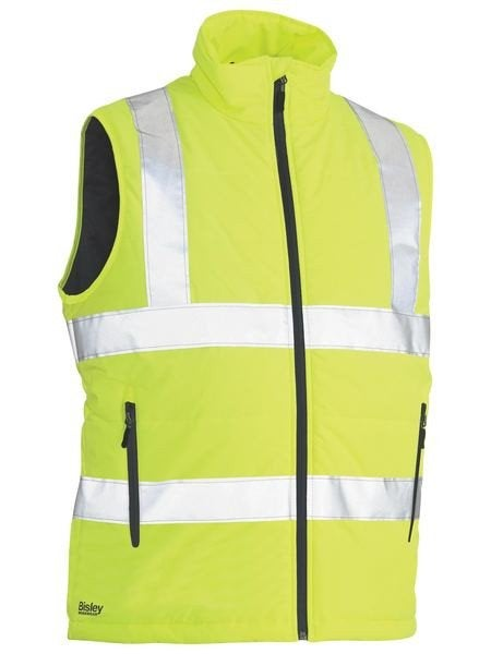 TAPED HI VIS PUFFER VEST