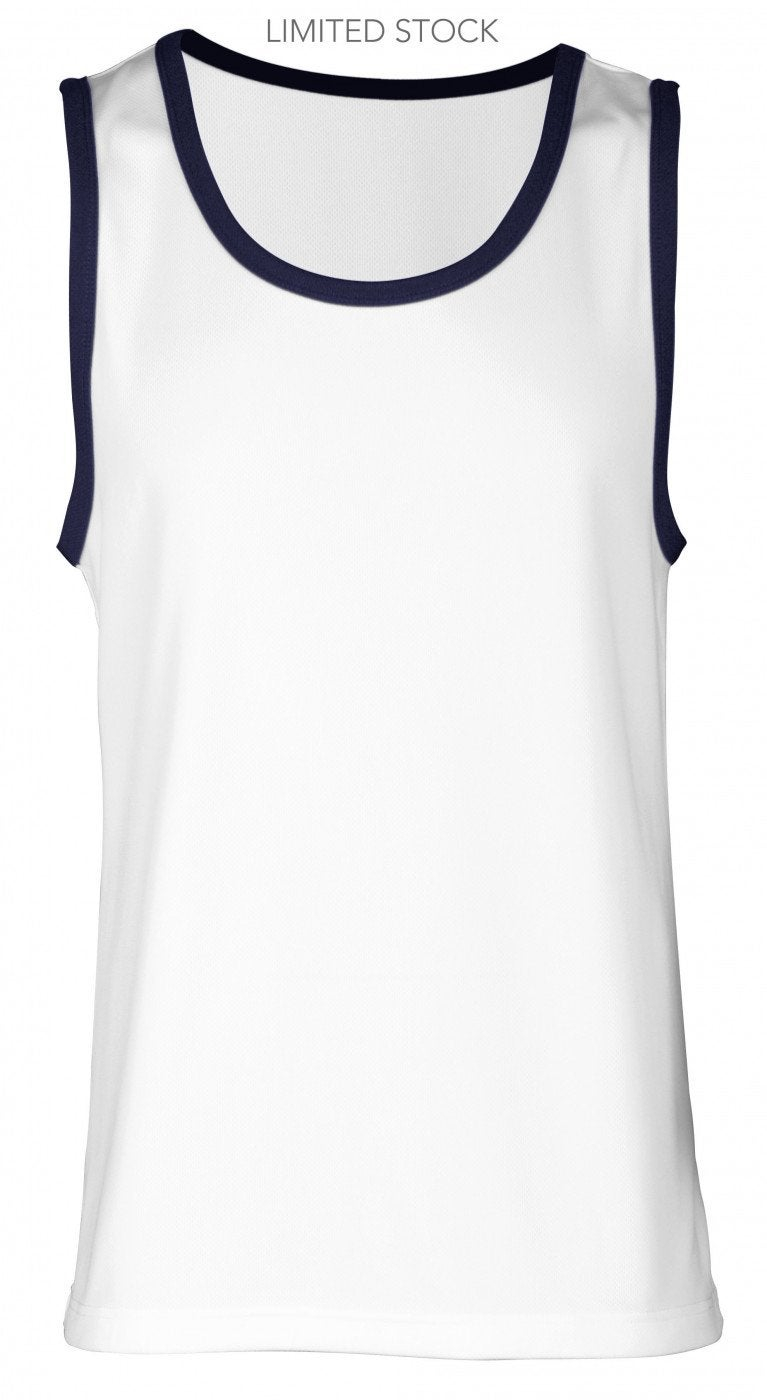 Mens Stripe Sleeveless
