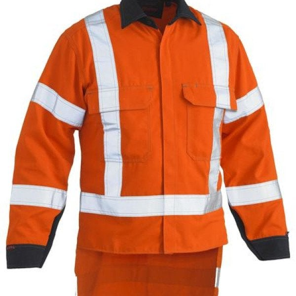 Custom TAPED HI VIS VENTED LONG SLEEVE SHIRT