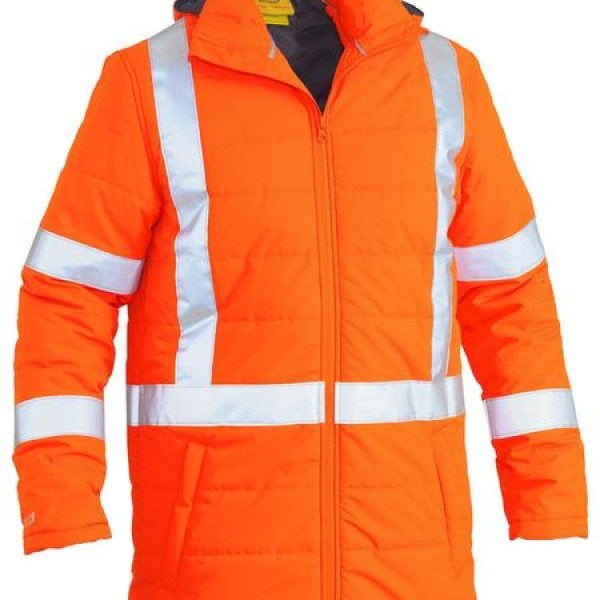 TTMC-W X TAPED HI VIS PUFFER JACKET