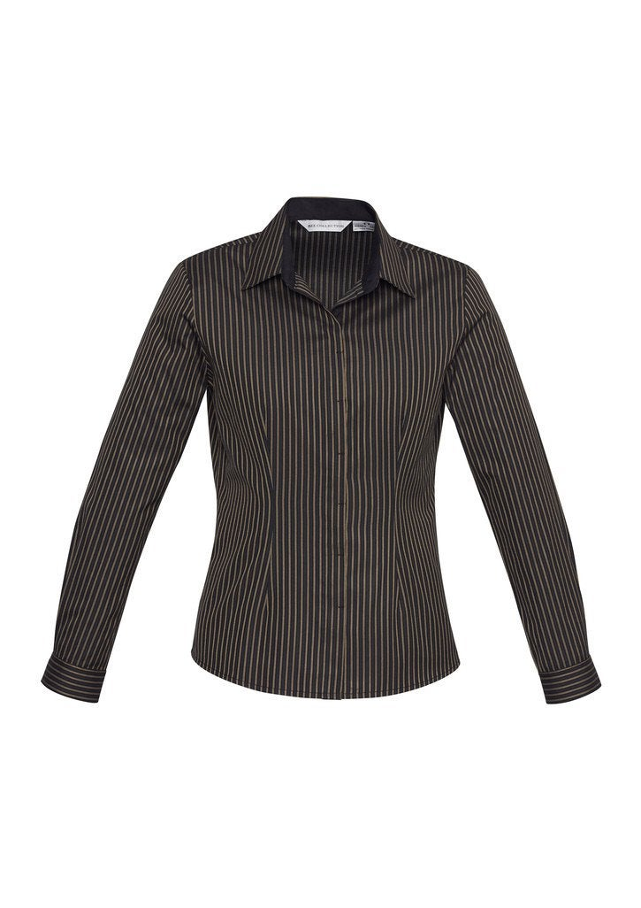 LADIES RENO STRIPE LONG SLEEVE SHIRT