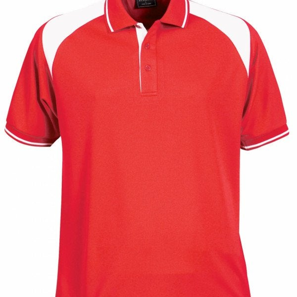 Custom Club Mens S/S Polo