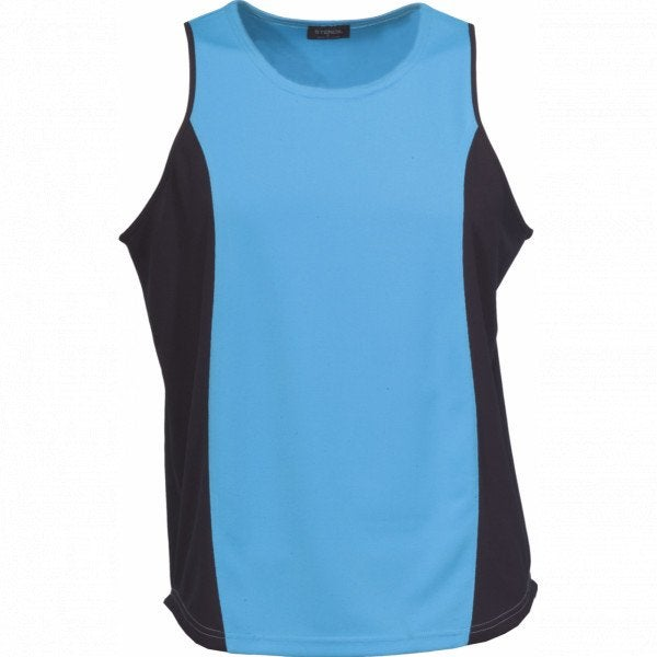 Custom COOL DRY MENS SLEEVELESS SINGLET