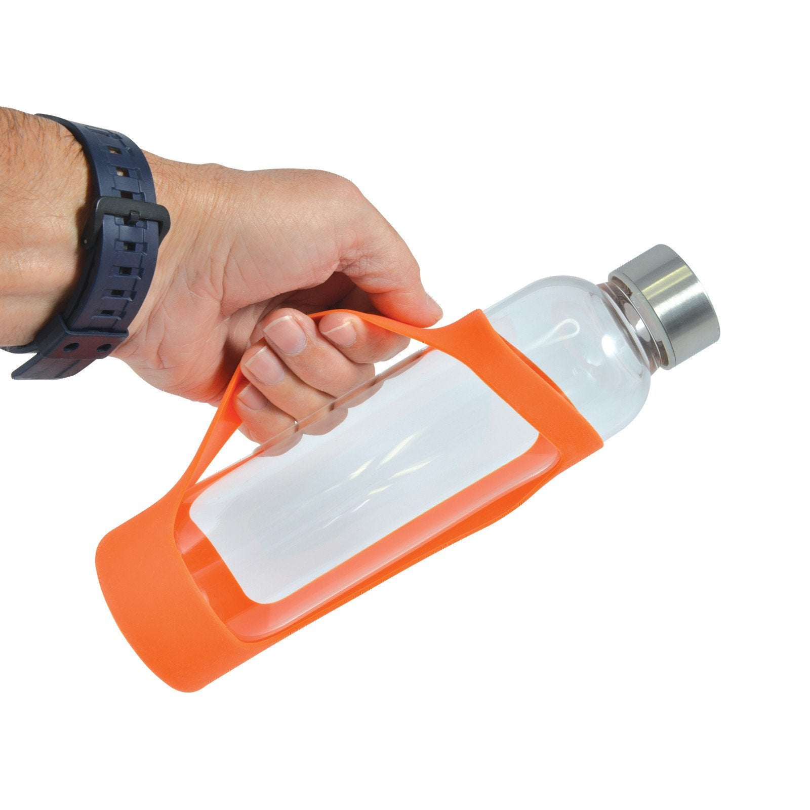 Capri Glass Bottle with Silicone Sleeve - 570ml