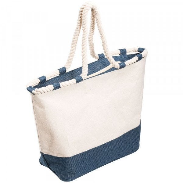 Custom Zippered Laminated Canvas Tote Bag
