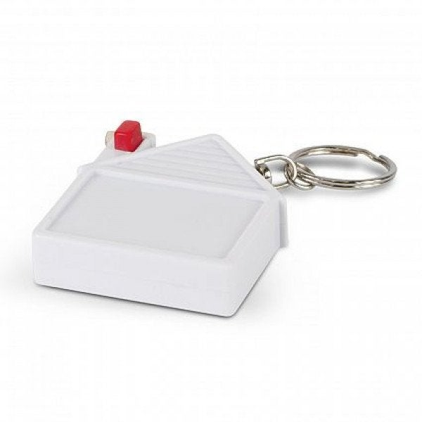 Custom House Tape Measure Key Ring
