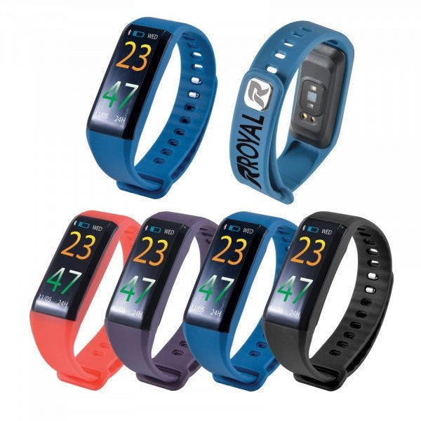 Custom Powerfit 2.0 Fitness Band with Blood Pressure Monitor