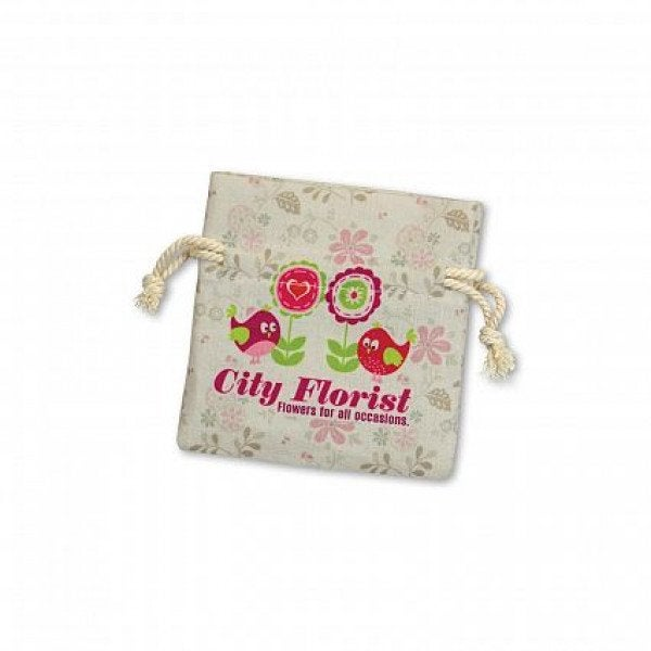 Custom Turin Cotton Gift Bag - Small