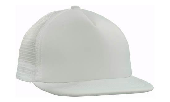 Trucker Mesh Cap With Flat Peak