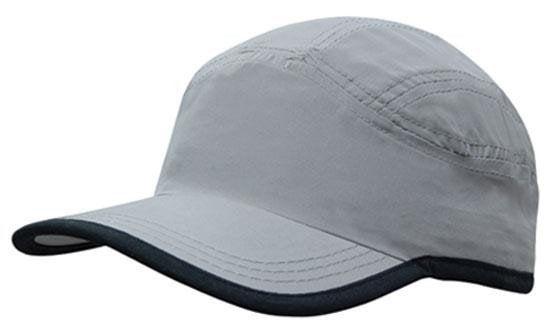 Microfibre Sports Cap With Trim