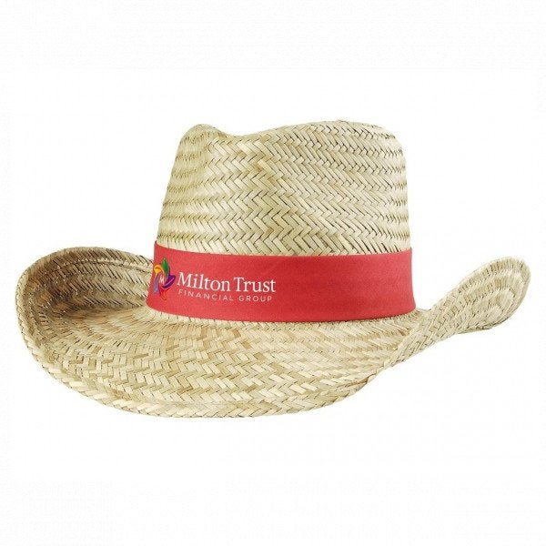 Custom Cowboy Straw Hat