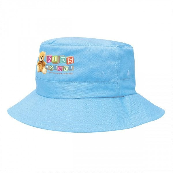 Custom Kids Twill Bucket Hat With Toggle