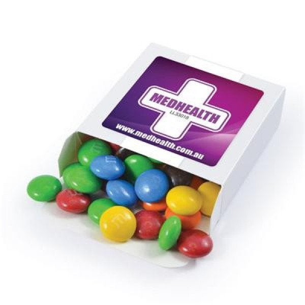 Custom M&M's in 50 Gram Box
