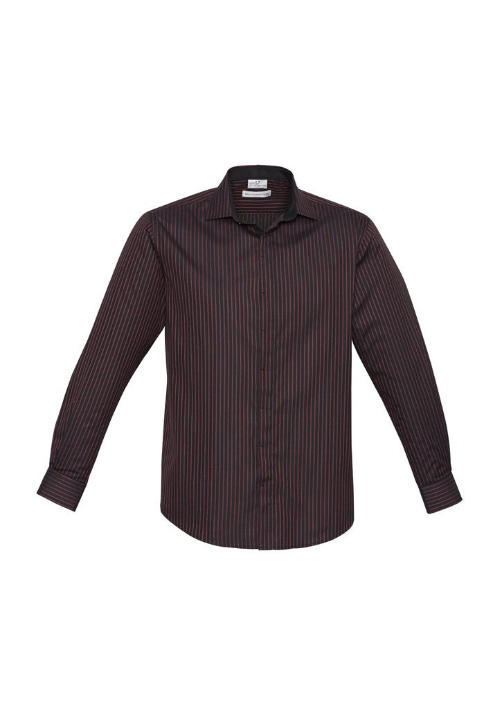 Mens Reno Stripe Long Sleeve Shirt