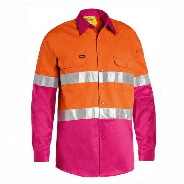 Custom 3M TAPED COOL HI VIS LIGHTWEIGHT SHIRT
