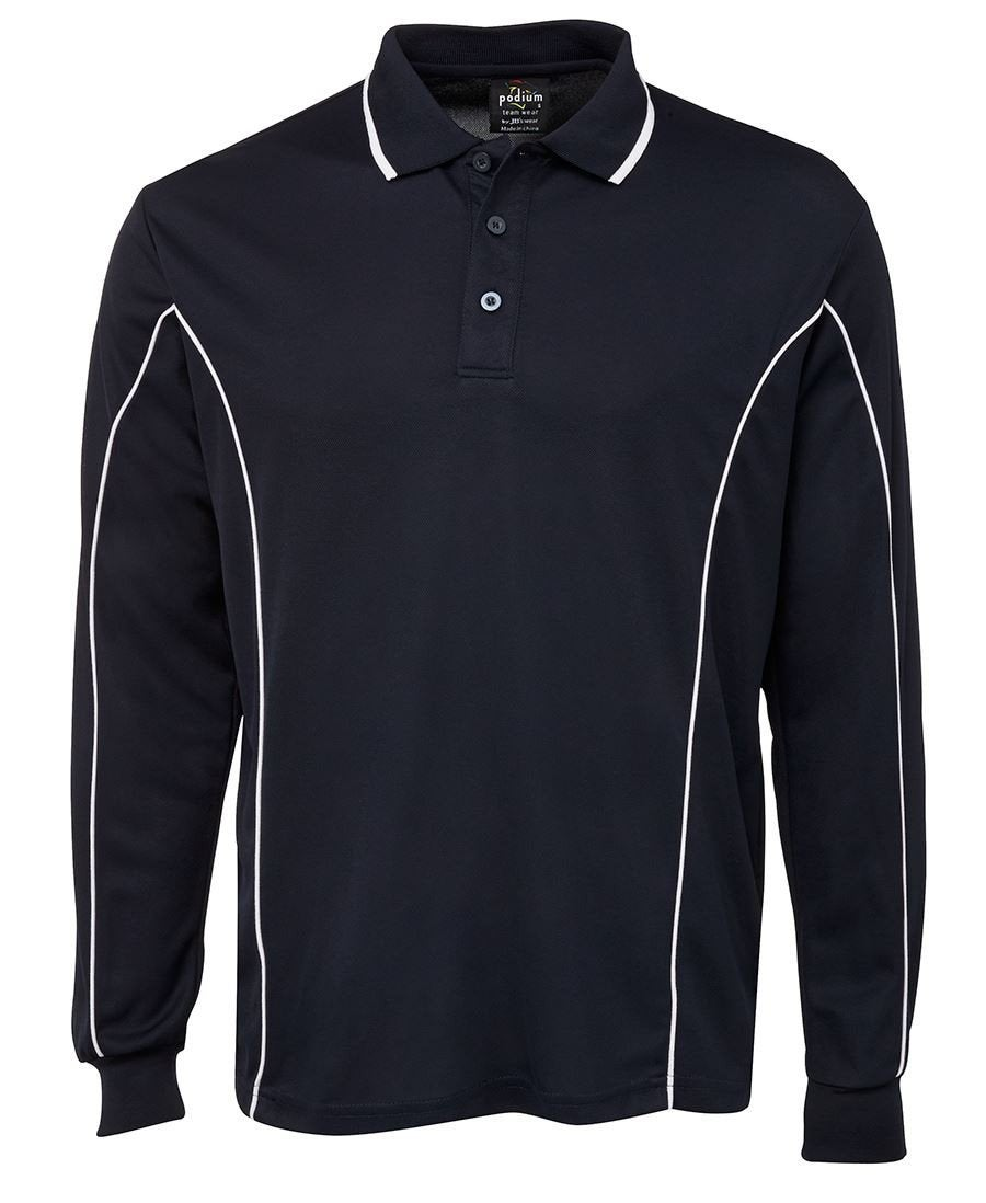 L/S Piping Polo