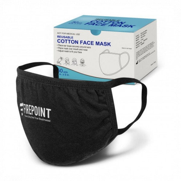 Custom Reusable Cotton Face Mask