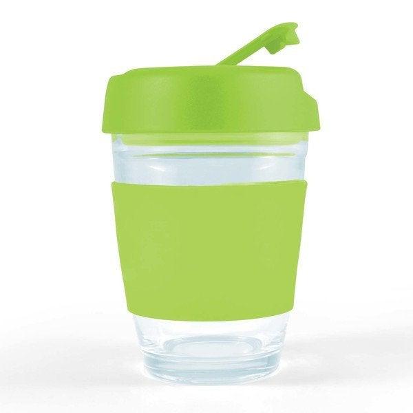 Vienna Glass Coffee Cup / Flip Lid