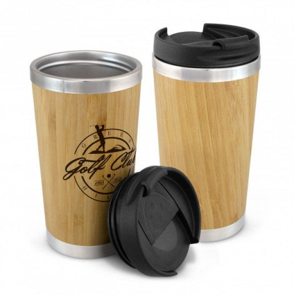 Custom Bamboo Double Wall Cup