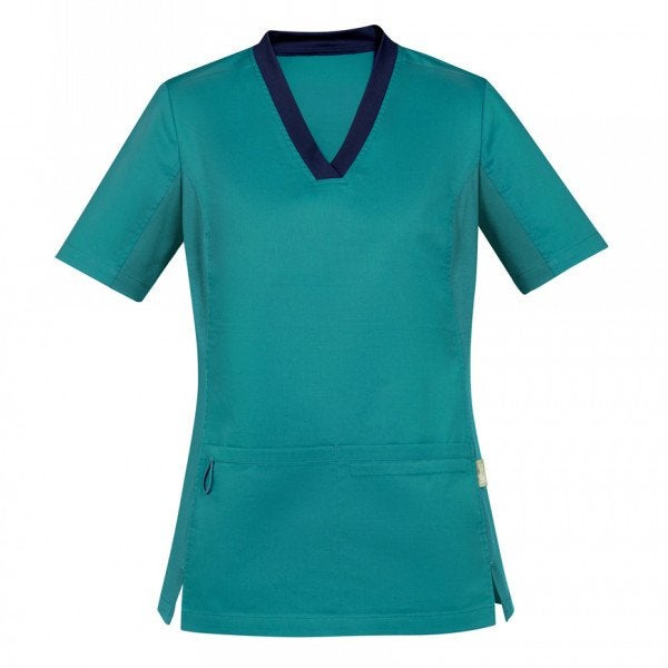 Custom Womens Riley V-Neck Scrub Top