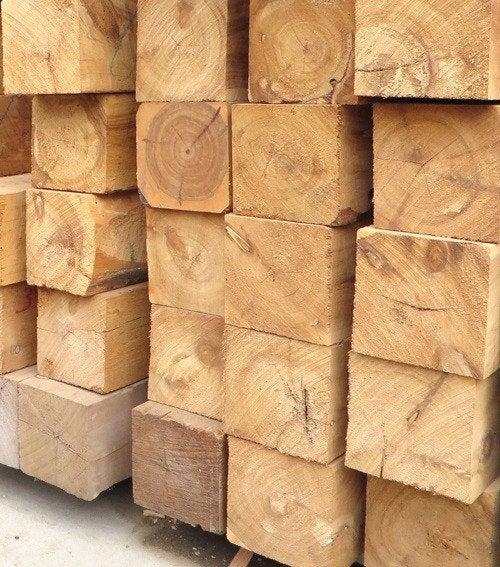 Cypress or Mixed Species Hardwood Posts - 2700mm x 150mm x 150mm