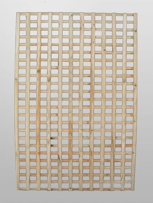 Treated Pine Lattice - 2400mm x 600mm - 42mm Square Lattice Sheet