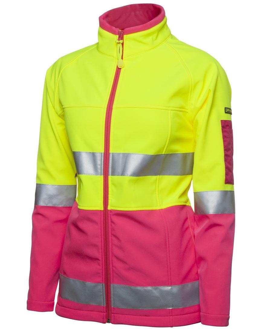 Ladies Hi Vis Softshell Jacket