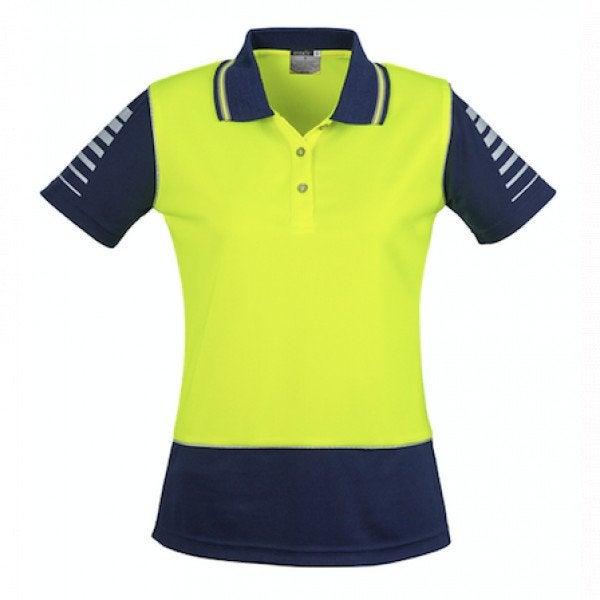 Custom Womens Hi Vis Zone Polo