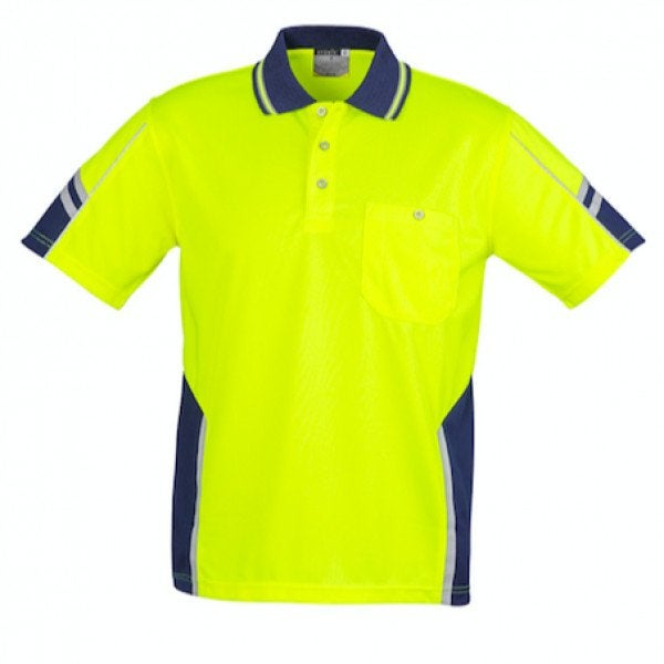 Custom Mens Hi Vis Squad S/S Polo