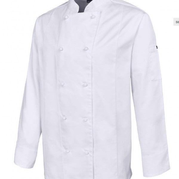 Custom Mens L/S Vented Chef's Jacket