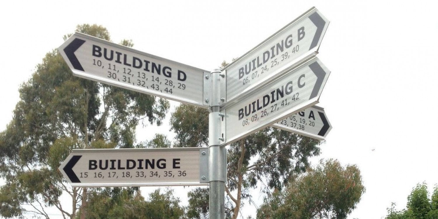 Directional Signage & The User Experience: Part One