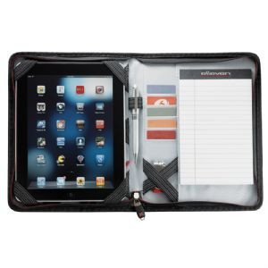 Elleven iPad Cover - Black Journal