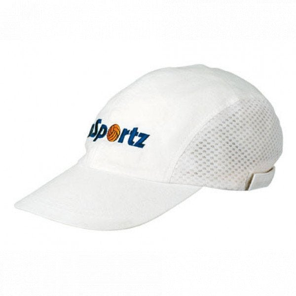 Custom Brushed Cotton Cap With Mesh Side Panels
