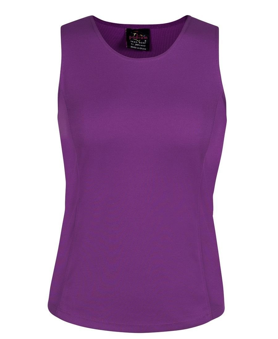 Ladies Poly Singlet