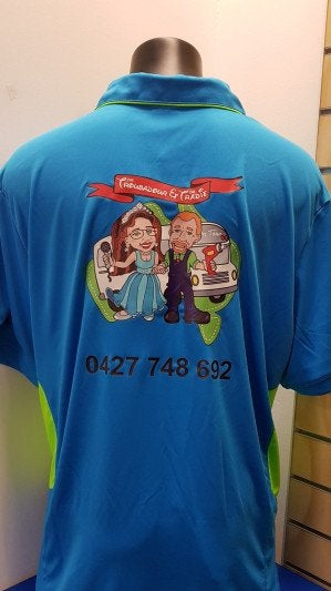 Fully Promoted Vinyl Heat Transfer Printing