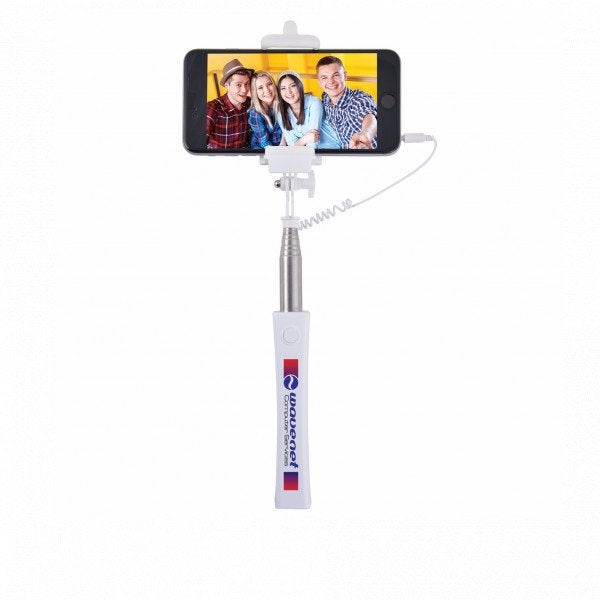 Custom Compact Wired Selfie Stick