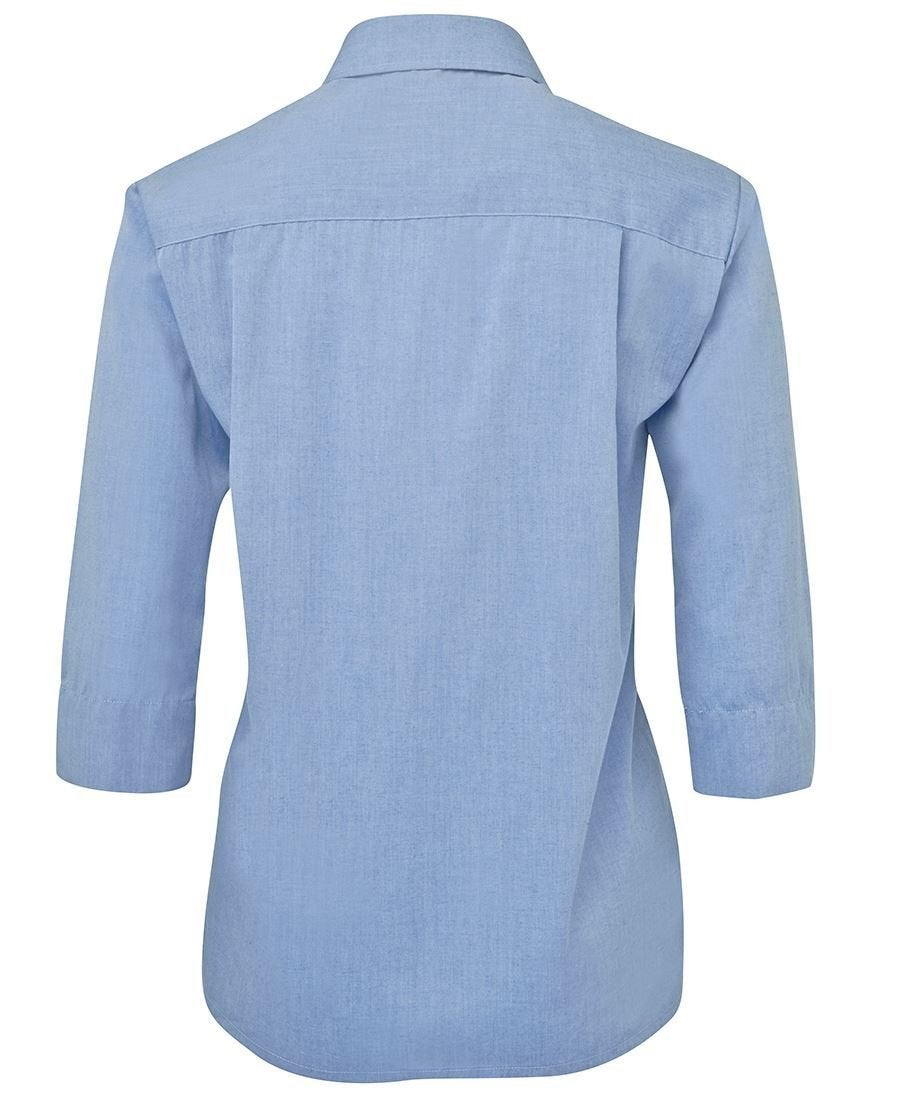 LADIES ORIGINAL 3/4 FINE CHAMBRAY SHIRT