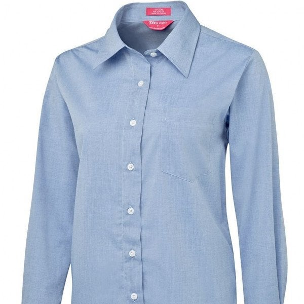 Custom LADIES ORIGINAL L/S FINE CHAMBRAY SHIRT