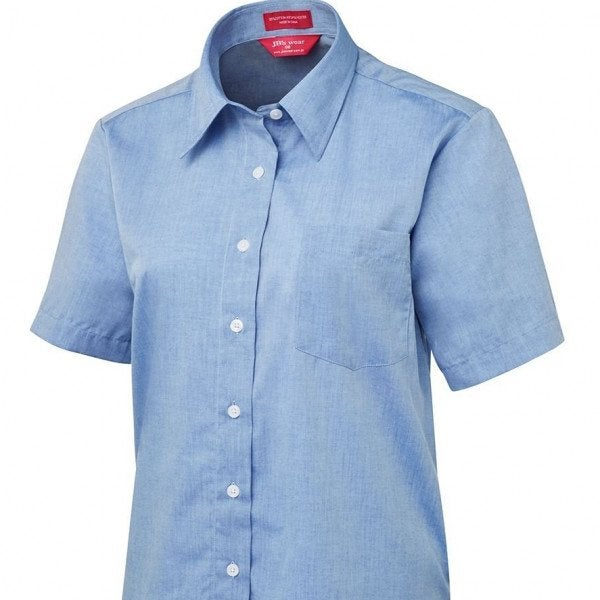 LADIES ORIGINAL S/S FINE CHAMBRAY SHIRT