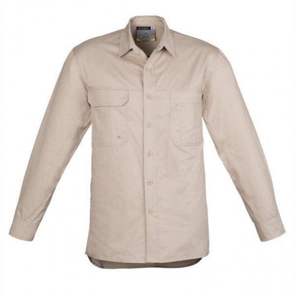 Custom Mens Lightweight Tradie Shirt - Long Sleeve